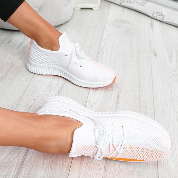 Upawear Breathable Lightweight Lace-Up Sneakers
