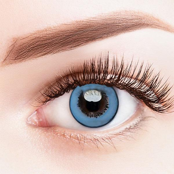 Fancy Blue Yearly Colored Contact Lenses