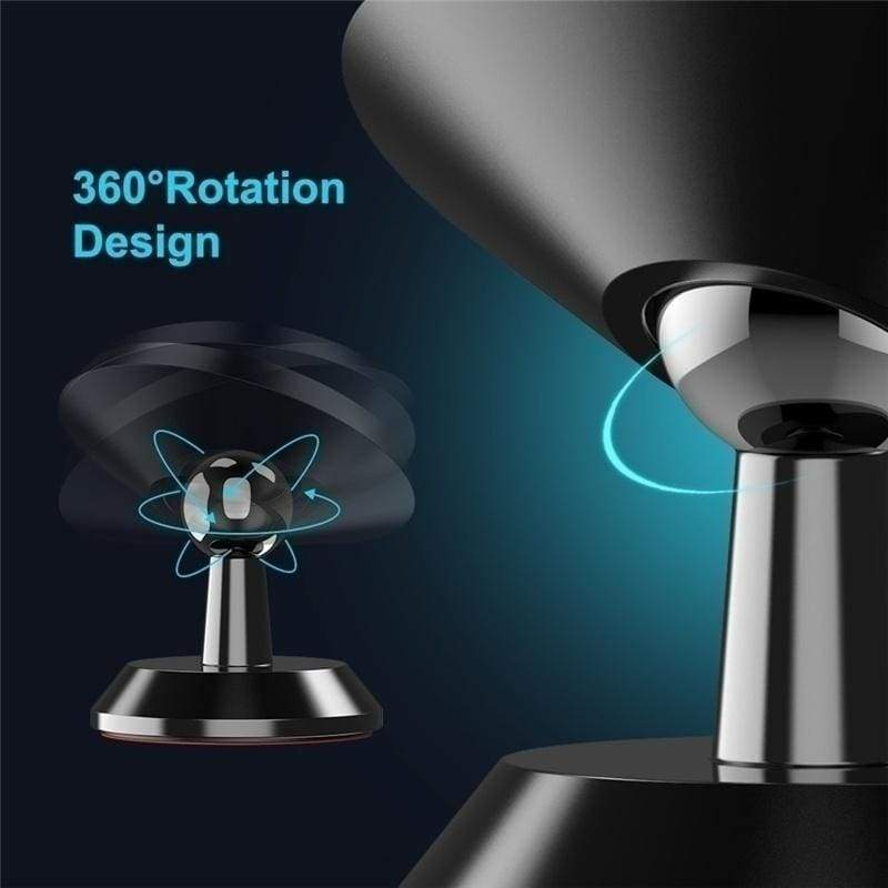 1PCS Hot Fashion 360 Magnetic Air Vent Mount Degree Universal Car Phone Holder Cell Phone Car Mobile Phone Holder Stand Mobile Phone Accessories Car Accessories