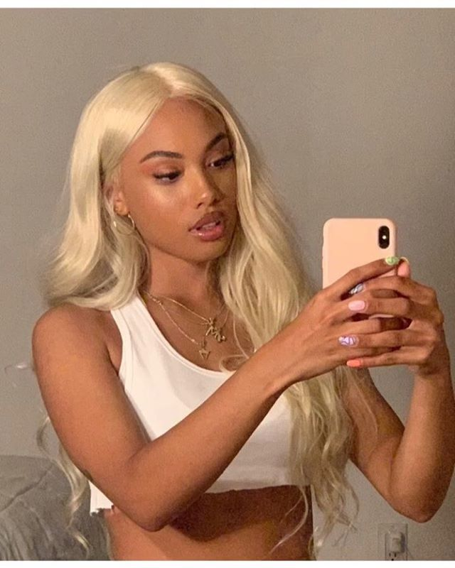Blonde Wigs For Black Women Lace Front Lace Front Bob Wigs Short Hair Lace Wigs 613 Deep Wave Frontal Blonde Natural Curly Hair