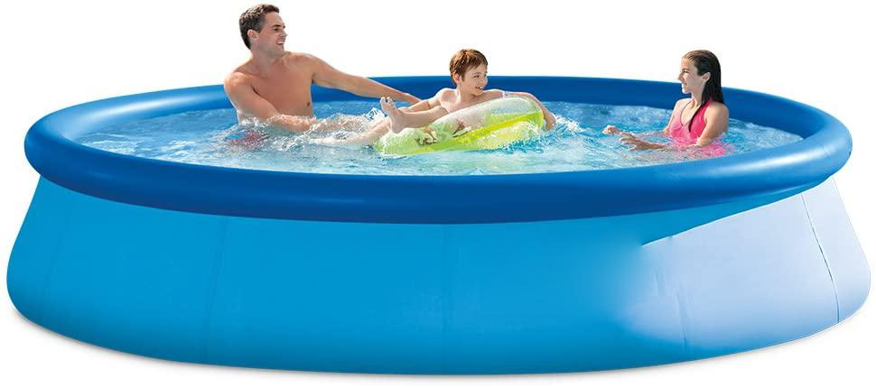 Hot Summer 12 ft x 36 in (25/peron) Easy Set Pool Set with pump