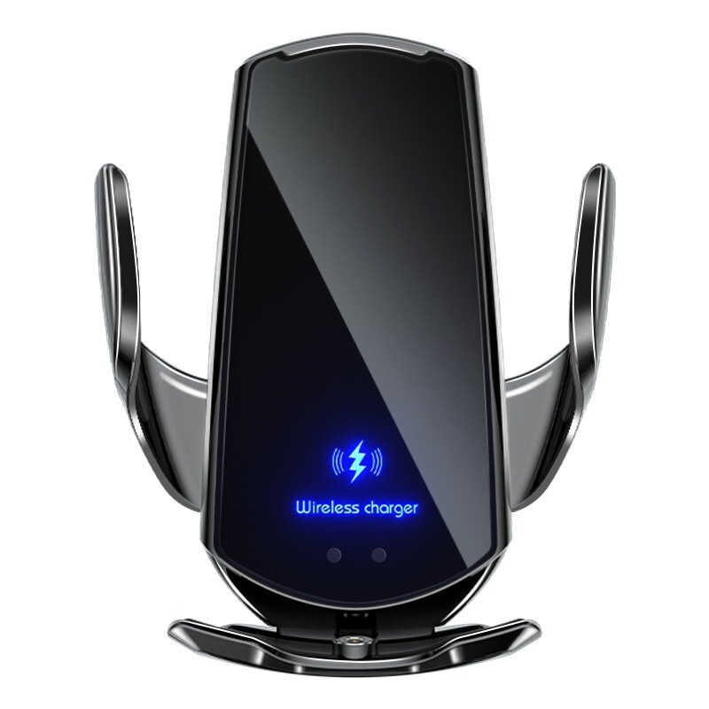 【2020 Upgrated】15w Fast Charging Wireless Automatic Sensor Car Phone Holder and Charger