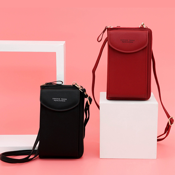 Classic Cell Phone Crossbody Bag For Women