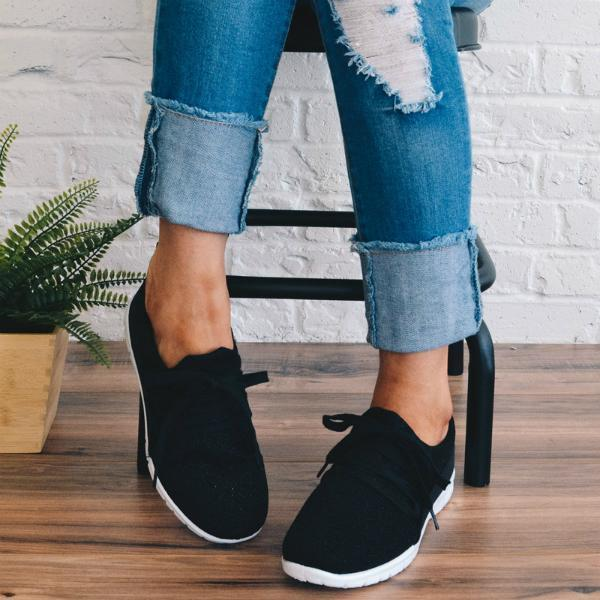 Upawear  Adjustable Lace-up Sneakers