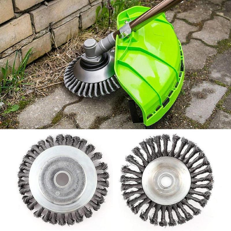 Break-Proof Wired Round Edge Weed Trimmer Blade - SUMMER PROMOTION 50% OFF!