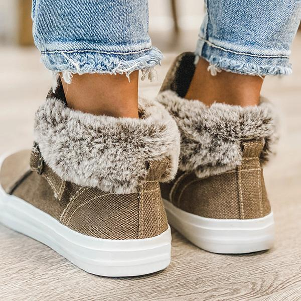 Bonnieshoes Daily Casual Canvas Boots