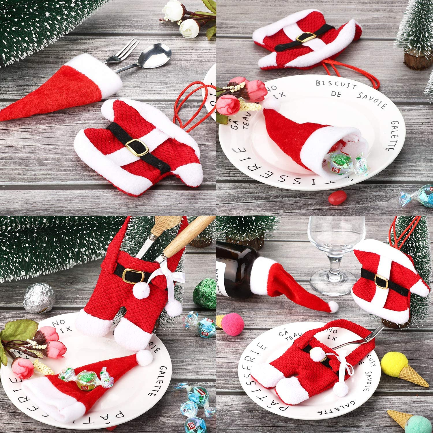 Chirstmas Cutlery Set Holder & Gift Box (Any 3 Set Free Shipping & 10% OFF)