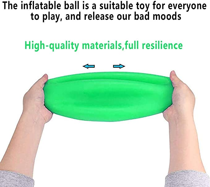 4-piece outdoor entertainment inflatable water polo large transparent balloon soft rubber ball