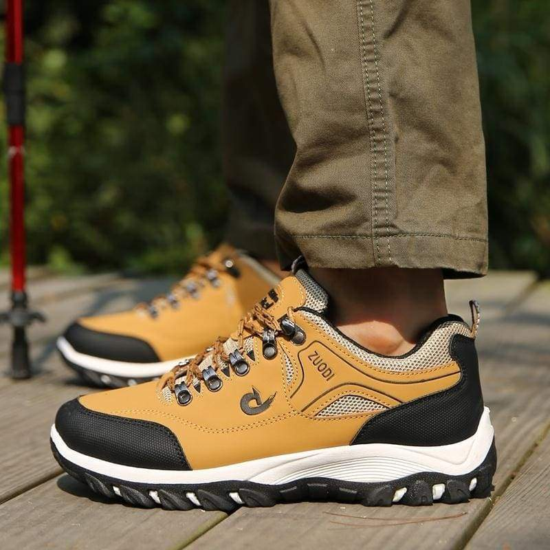 Men's Outdoor Breathable Hiking Shoes Non-slip Trekking Shoes Climbing Sports Shoes