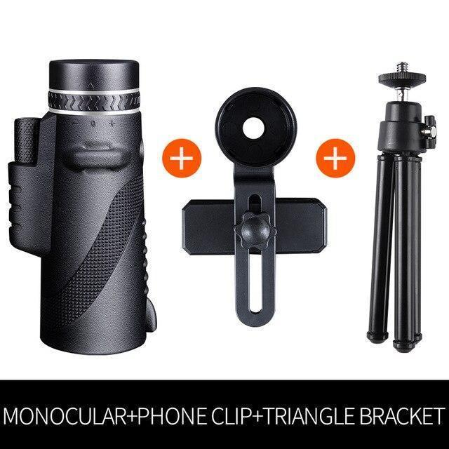 2020 NEW WATERPROOF 40X60 HIGH DEFINITION MONOCULAR TELESCOPE