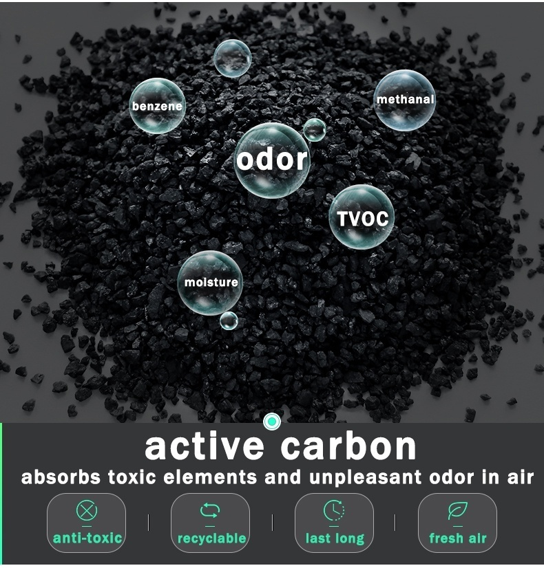 New Bamboo Charcoal Bags Air Fresh Purifier Deodorizer Formaldehyde Adsorption/Activated Carbon