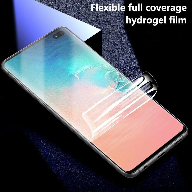3D Hydrogel TPU Full Screen Protector Film For Samsung Note 10 S10 S9 S8 Plus Note 9 8 S7 S6 Edge