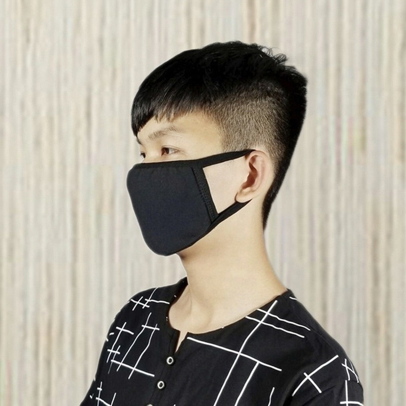 1/2/3/6/10/20PCS Unisex Reusable Dustproof Cotton Mouth Face Masks Mouth Cover for Man and Woman
