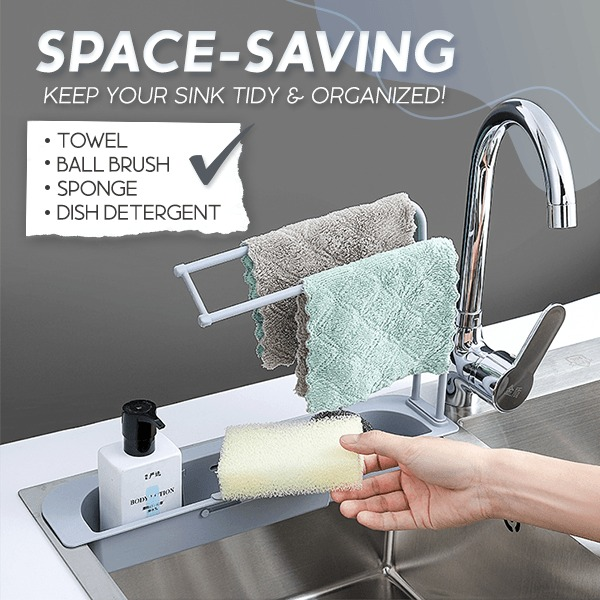 (New Year's Pre-Sale-Save 50% Off)Telescopic Sink Storage Rack-Buy 2 Get Free Shipping
