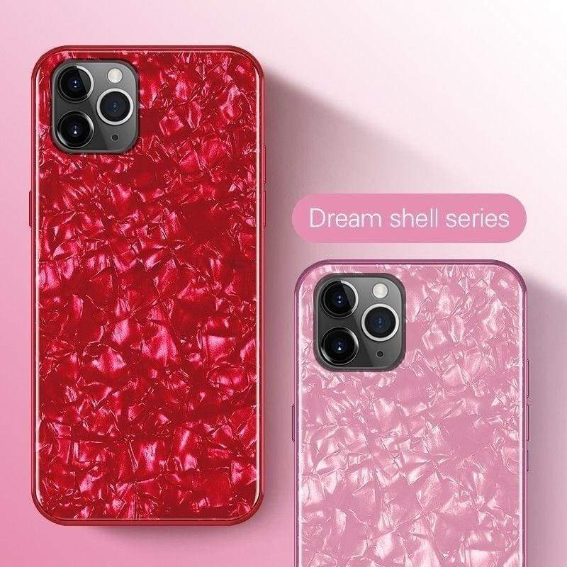 Luxuey Crystal Hybrid Glass Shockproof Back Hard Case For iPhone 11 / 11 Pro / 11 Pro Max / X / XS / XS MAX / XR / 8 / 7 / 6