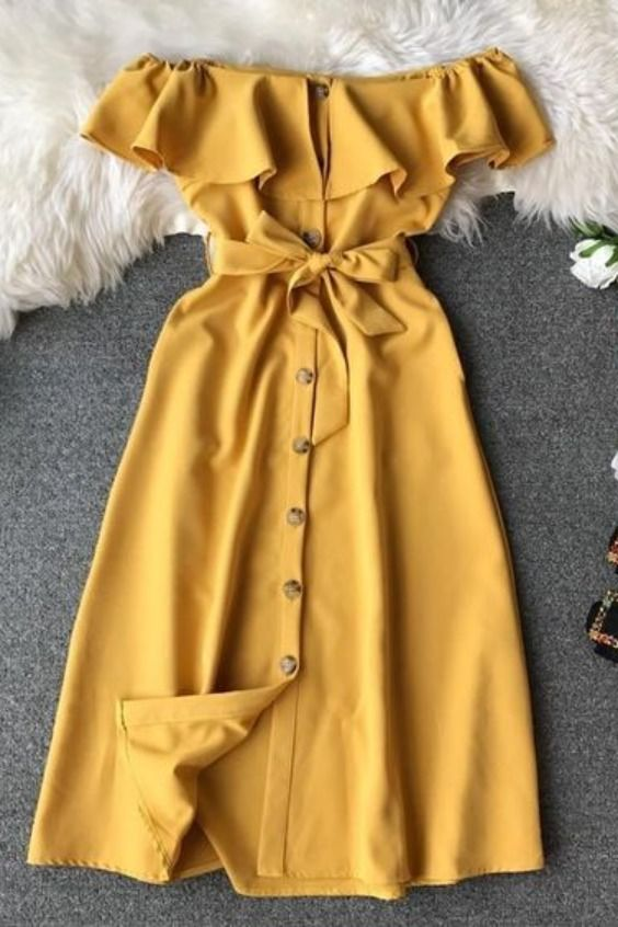 Dresses For Women Yellow Gown Dress Easter Outfits Long Floral Wrap Dress Black Dress Green Evening Dresses
