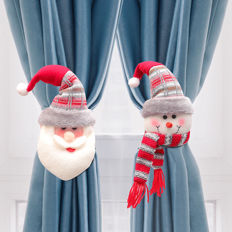 Christmas Rubber Band Curtain Buckle