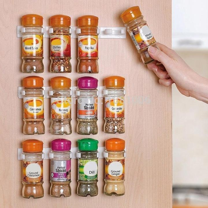 Spice Jar Holder Clip (2PCS)