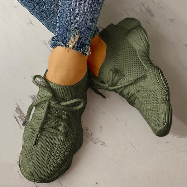 Bonnieshoes Net Surface Breathable Non-Slip Sneakers