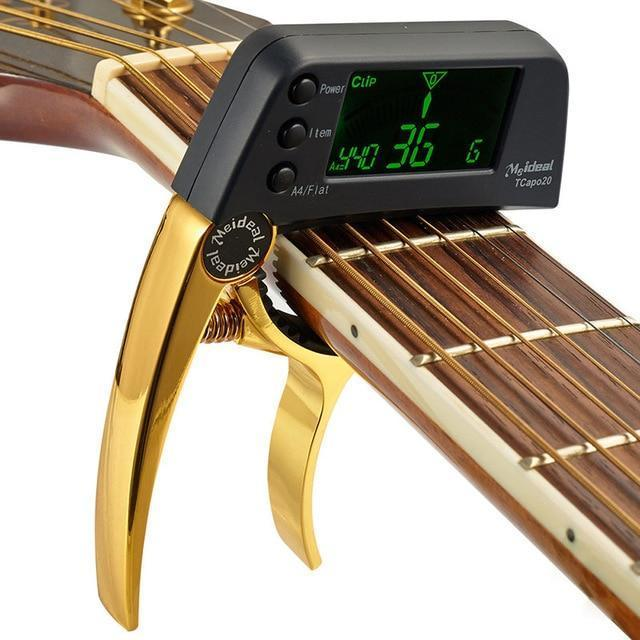 🔥50%OFF🔥BUY 2 SAVE EXTRA $30 - GUITAR TUNER CAPO (ACOUSTIC & ELECTRIC)