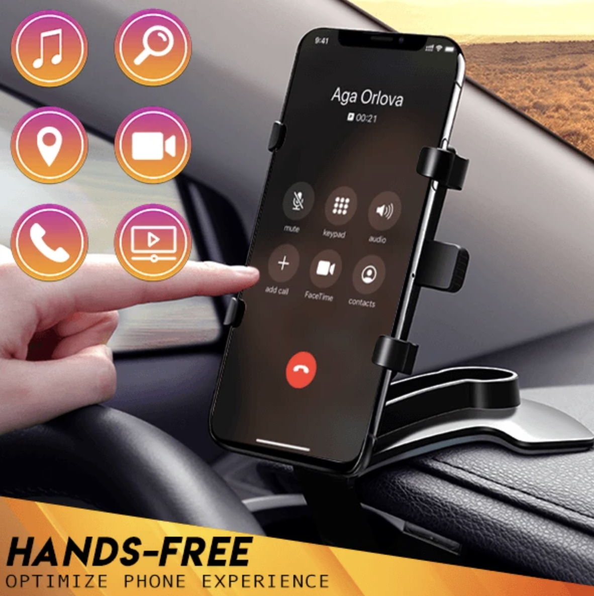 🔥50% OFF🔥-360° Universal Car Phone Holder