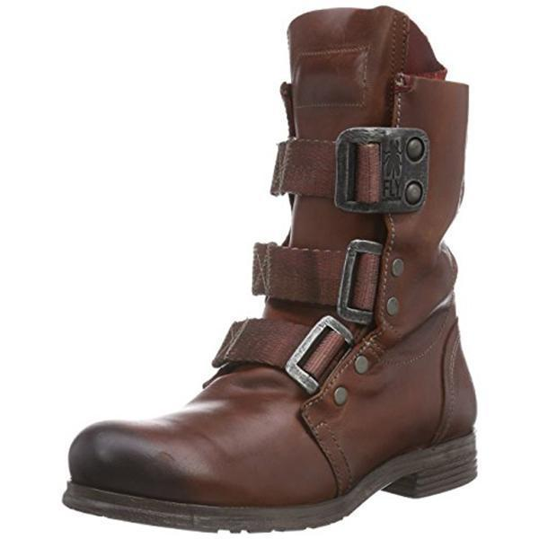 Men's Retro Buckle Hiking Boots