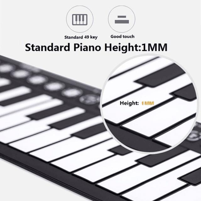 🎄CHRISTMAS SALE🎄BEST GIFT - HAND ROLL PORTABLE PIANO