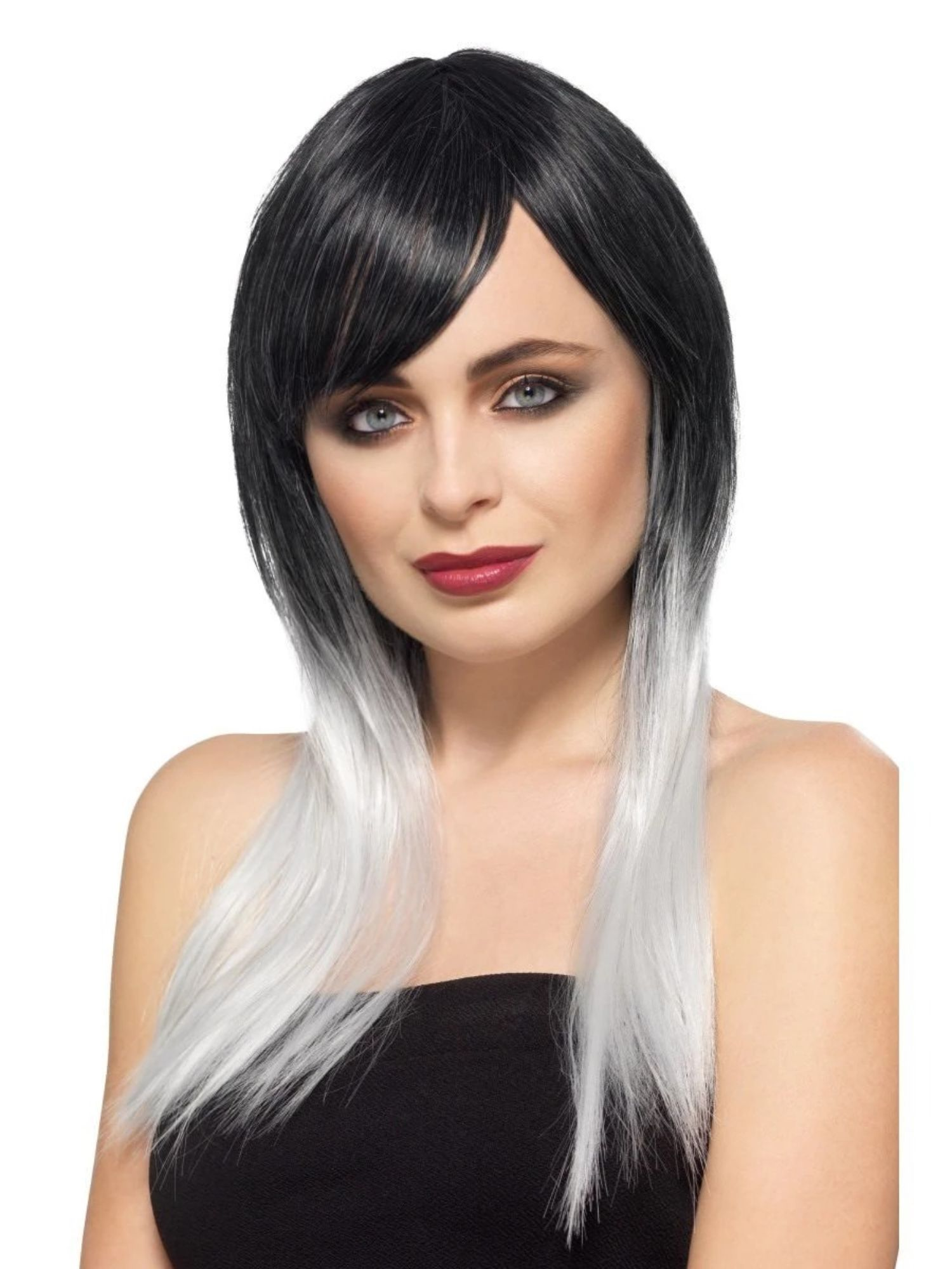 2021 New Lace Front Wigs Yellow Bob Lace Front Wigs White Long Wig With Bangs 360 Ombre Lace Wig