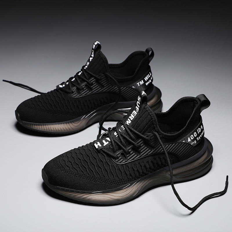 Sports Shoes for Men Casual Shoes Big Size Fashion Breathable Mesh Sneakers Air Cushion Running Shoes Eur 39-46