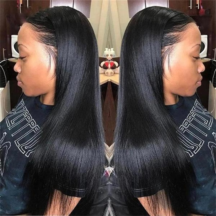 ✨New Sale 40% OFF ✨Fake Scalp Straight 360 Lace Frontal Wig