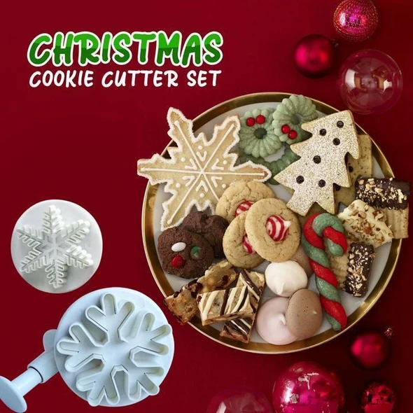 🎄50% off🎄Christmas Cookie Cutters (Set of 22)