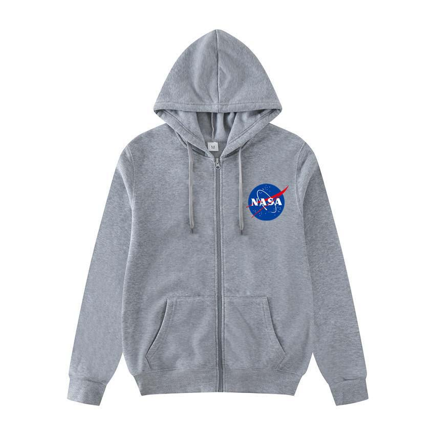 Nasa Pullover Men Zipper Up Nasa Jackets