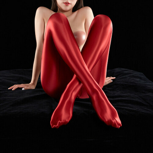 Satin GLOSSY OPAQUE Stockings Yoga