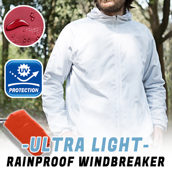 🔥Buy 2 Free Shipping🔥Ultra-Light Unisex Rainproof Windbreaker