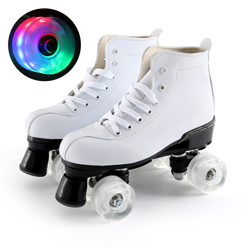 Roller Skates Flash Design Fit Outdoor