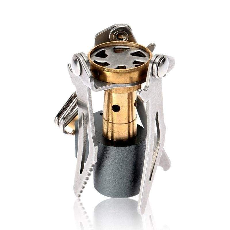 3000 W Portable Folding Mini Camping Stove Outdoor Gas Stove Survival Oven Stove 45g Pocket Picnic Cooking Gas Burner