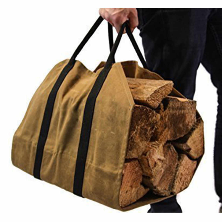 💥50% OFF Today💥Waterproof LargeOutdoor FirewoodBag