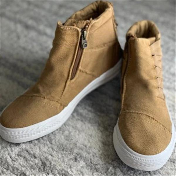Zoeyootd Outdoor Fall/Winter Outfit Sneakers Boots