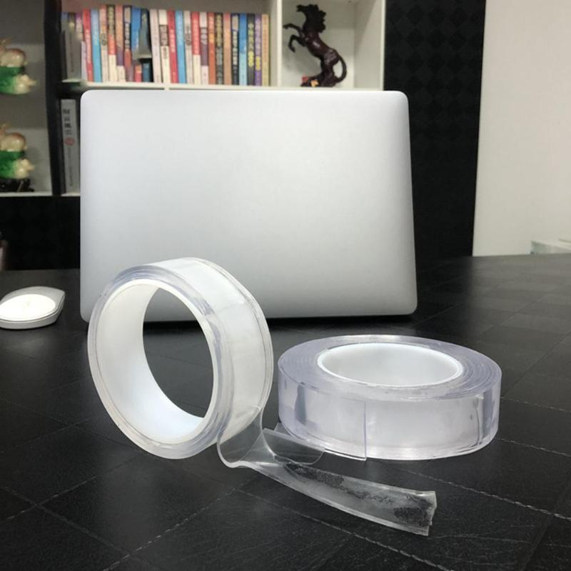 Multi-Functional Nano-Adhesive Residue-Free Transparent Super-Adhesive Tape Roll
