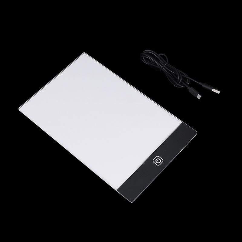 A4 A5 Led Drawing Tablet Thin Art Stencil Drawing Board Light Box Tracing Table Pad
