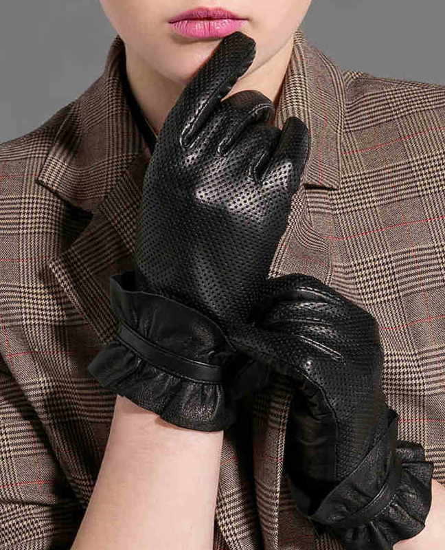 Genuine Leather Breathable Glove
