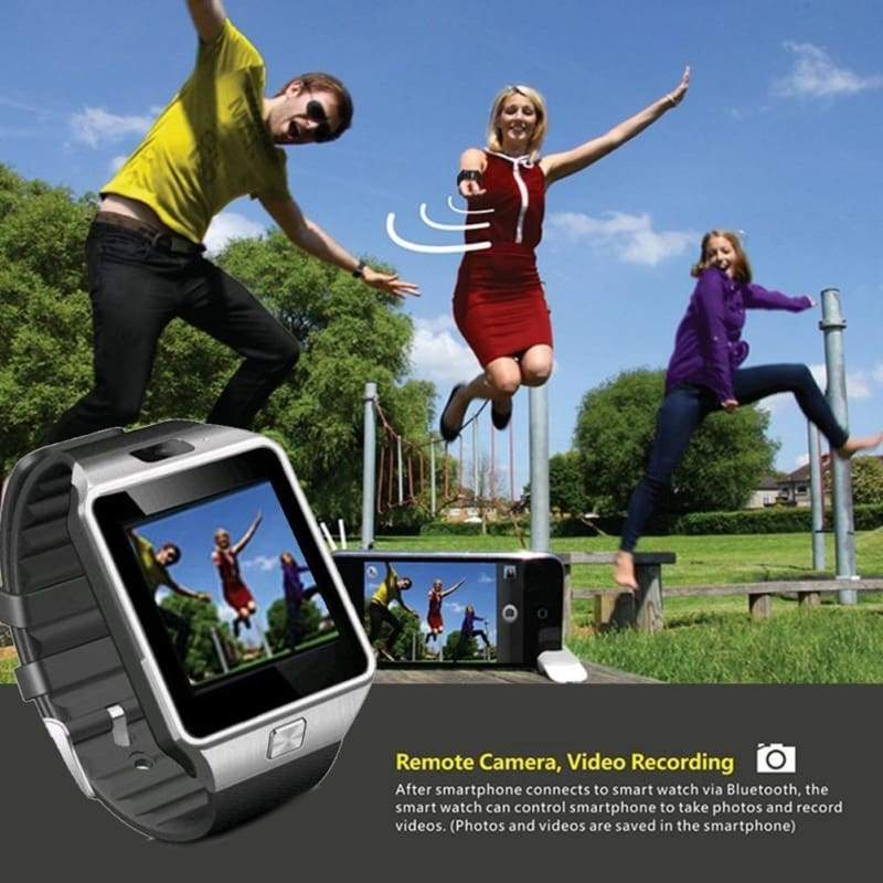 DZ09 Bluetooth Smart Watch Phone Mate GSM SIM For Android iPhone Samsung HTC