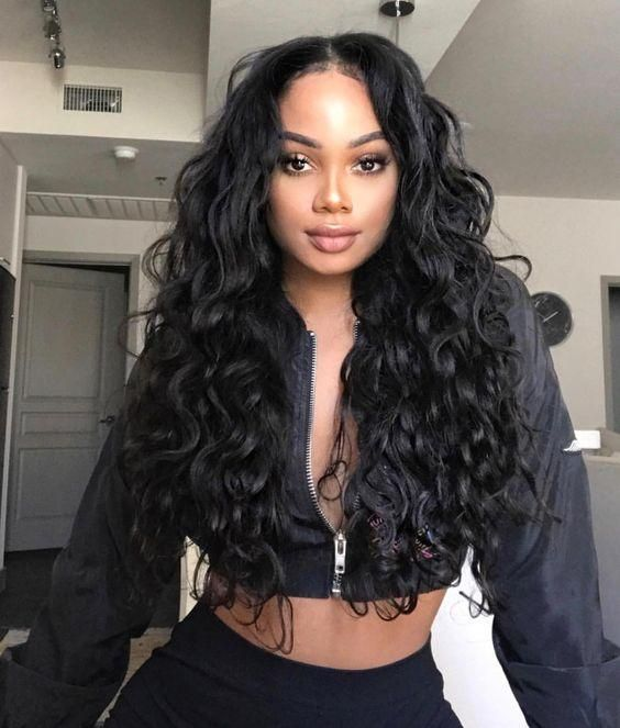 Best Curly Wigs Lace Frontal Wave Wigs Best Synthetic Wigs Cuticle Aligned Hair Wholesale Big Curls 8A Hair Type
