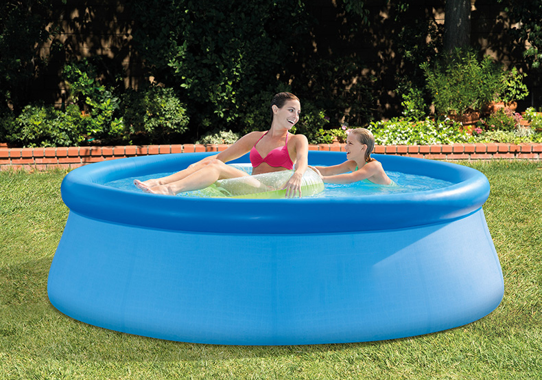 US STOCK 2020 Upsated Summer 12 ft x 36 in / Blue in Easy Set Pool Set with air Pump