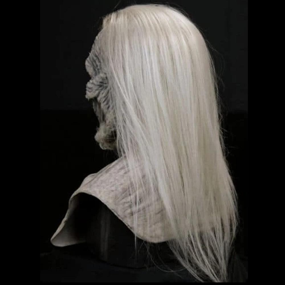 WHITE WALKER SILICONE MASK-Halloween [Hot Sale]