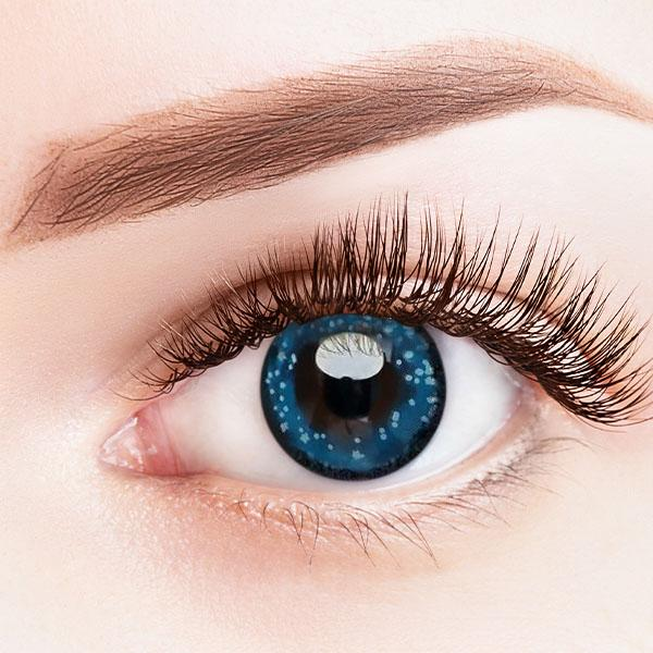 Clear Sky Blue Yearly Colored Contact Lenses