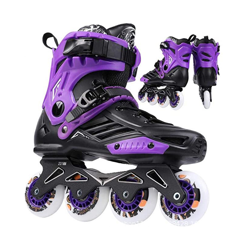 Roller Skates Comfortable Inline Skates Fit Men Women