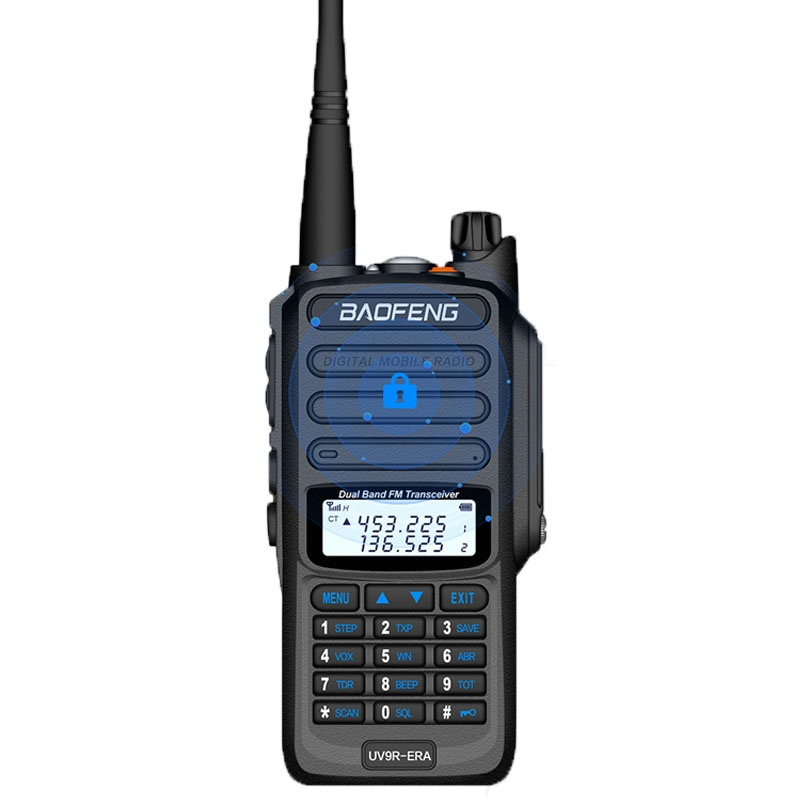 Baofeng UV9R-ERA Walkie Talkie 18W 9500mAh VHF(136-174MHz) UHF(400-520MHz) Dual Band Handheld Two Way Radio FM Protable Transceiver