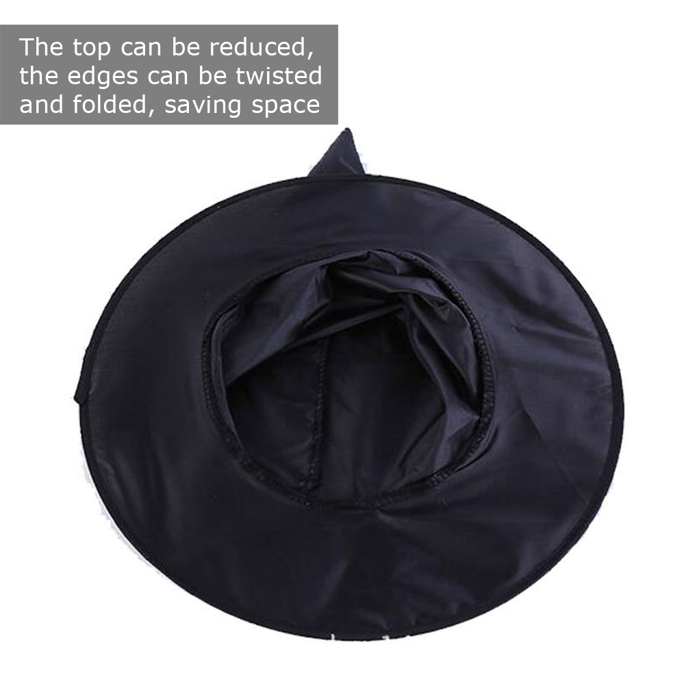 Halloween Witch Hat Cap Halloween Witch Costume Accessory for Halloween Party Favor