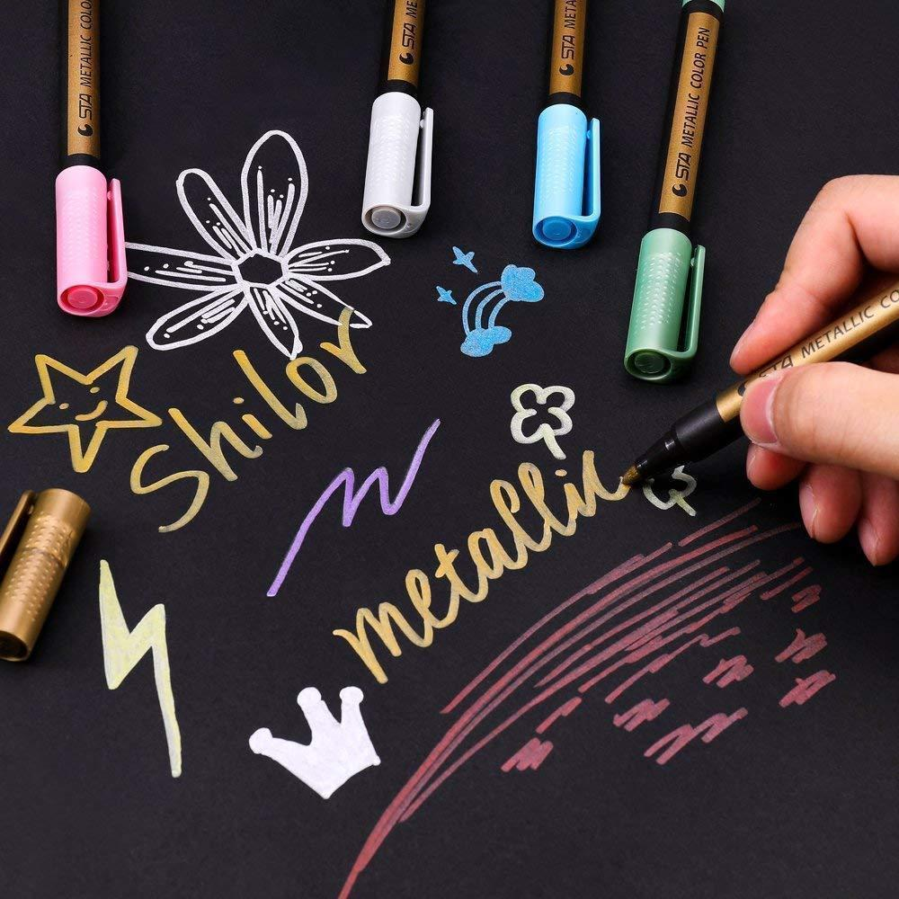 Waterproof Paint Marker Pens (Suit With 10 Colors)
